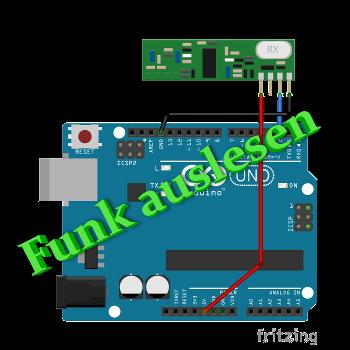 Funk Sender 433MHz auslesen mit Arduino - arduino-projekte info