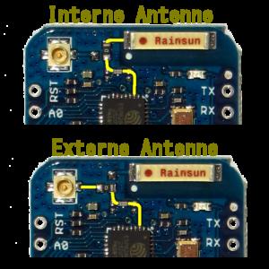 Wemos D1 mini Pro Antenne
