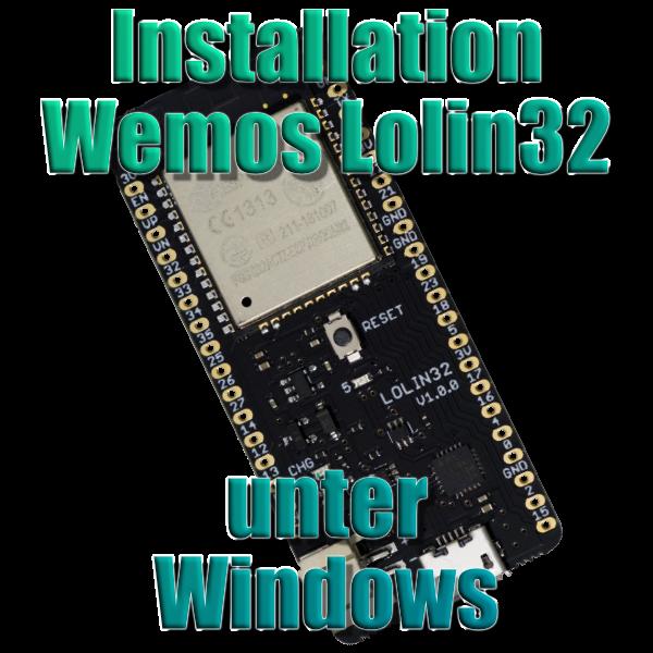 Installation Lolin32