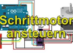 Schrittmotor ansteuern mit Arduino