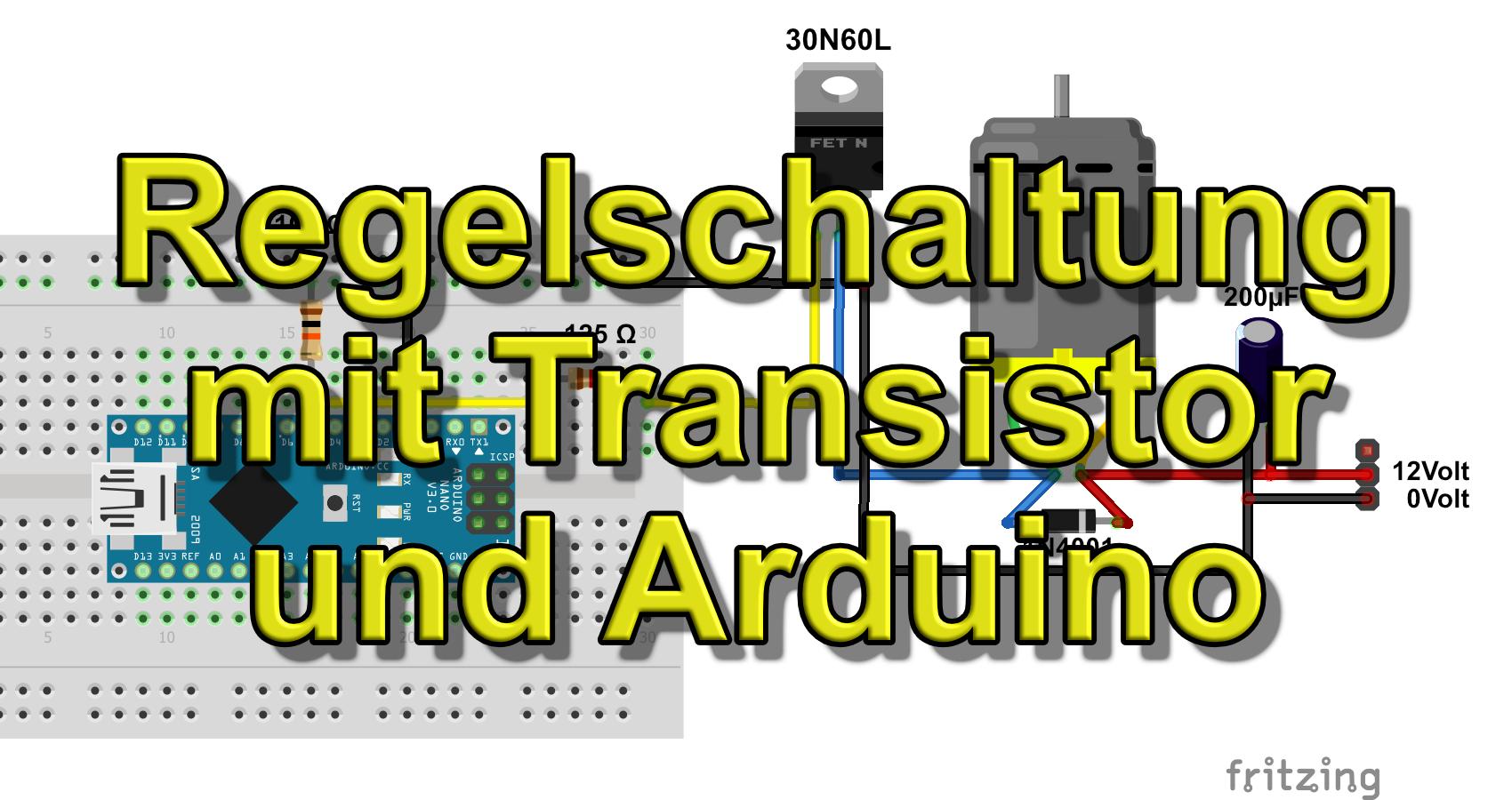 Transistor und Arduino