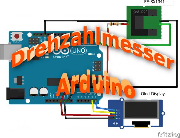 Drehzahlmesser Arduino