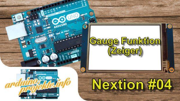 Nextion#04 Gauge (Zeiger)