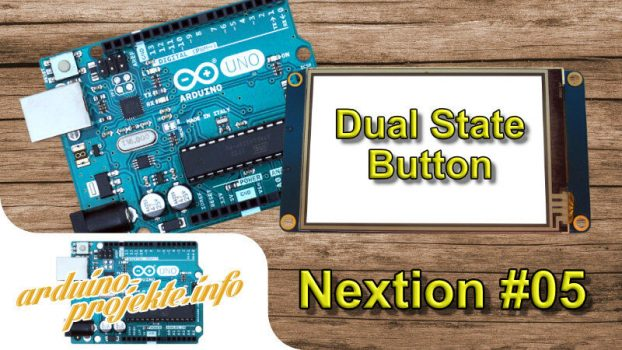 Nextion#05 Dual State Button
