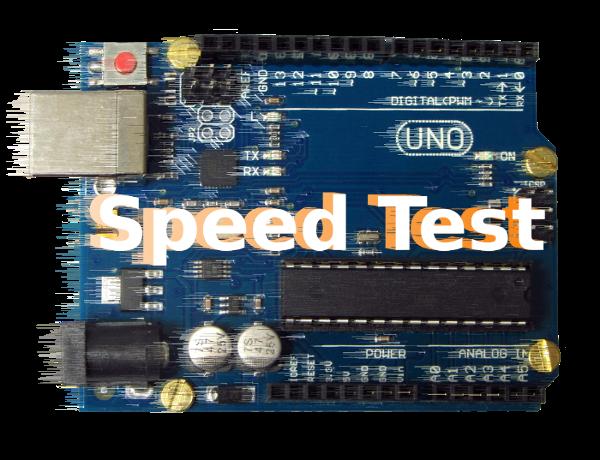 Speedtest Arduino